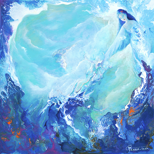 water spirit by Valerie Graniou-Cook